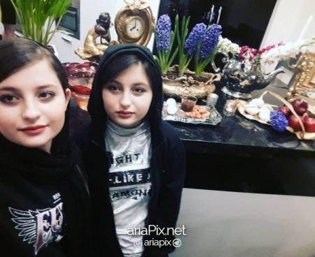 عکس جدید سارا و نیکا در سال 97 و 13 سالگی